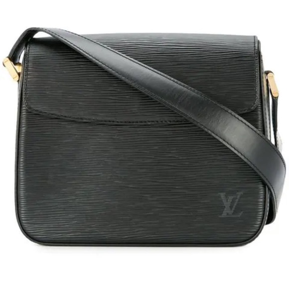 Louis Vuitton Handbags - Louis Vuitton Buci Black Epi Leather Shoulder Bag